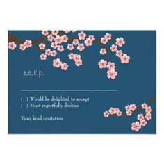 See MoreCherry Blossom Garden (Navy) RSVP w/ envelopes Personalized Announcementslowest price for you. In addition you can compare price with another store and read helpful reviews. Buy