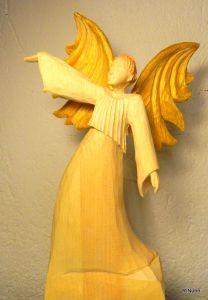 Perfect Engel aus Holz