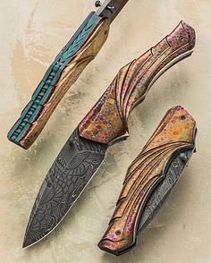 Dragonskin Damascus steel