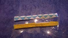 Headbands avec les chutes de tissus