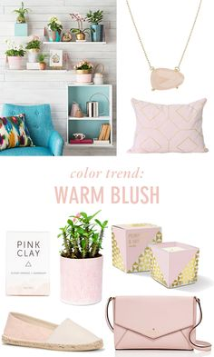 Color Trend: Warm Blush  // Twin Stripe