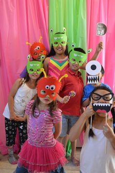 """Photo 2 of 40: Girly Monster Bash / Birthday """"My Little Monster turns 2!"""" 