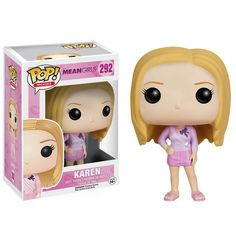 Mean Girls Karen Pop! Vinyl Figure - Funko - Mean Girls - Pop! Vinyl Figures at Entertainment Earth Pop Vinyl Figures, Karen Mean Girls, Chibi, Funko Pop Dolls, Pop Figurine, Funk Pop, Funko Figures, Disney Pop, Pop Toys