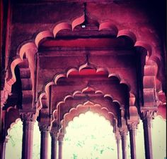 Diwan-e-aam#red fort #delhi  The hall of public audience  Mughal architecture#india   #photography