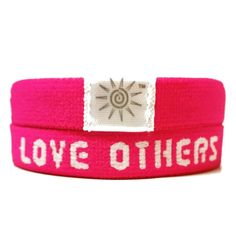 Love God Love Others - Hot Pink