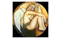 Obras de la pintora kazaja Akzhana Abdelieva