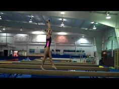 Helping your gymnasts develop both power and grace on beam Gymnastics Lessons, Gymnastics Stuff, Gymnastics Conditioning, Balance Beam, Gymnasts, Drills, Athletics, Beams, Basketball Court