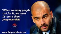 """HC: Guardiola: """"Catalonia is my country. And it is not Spain"""""""