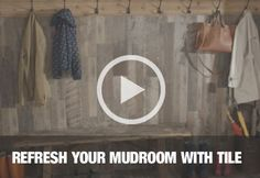 Tile Your Mudroom
