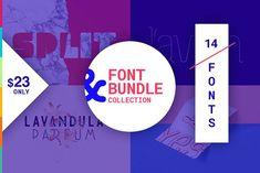 Font Bundle Collection vol.1  @creativework247