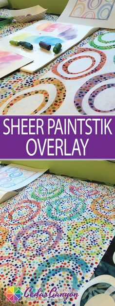 Got some fabric that isn't quite right? Grab your Paintstiks and fix it with a…