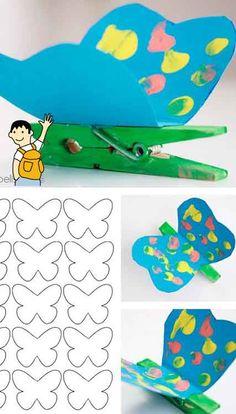 Manualidad para hacer con niños en primavera. 5 Recursos para trabajar la Primavera en el aula