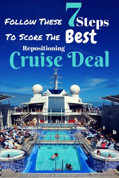 This 7-Step method shows how to find transatlantic & repositioning cruise deals for under $50 per day, best time to buy, & most effective search!