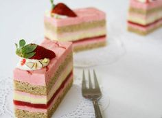 { a swoonful of sugar } : Graduation and Strawberry, Pistachio Entremet