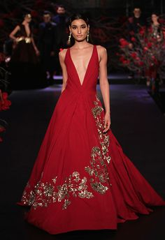 By designer Manish Malhotra. Shop for your wedding trousseau, with a personal shopper & stylist in India - Bridelan, visit our website www.bridelan.com #Bridelan #Manishmalhotra #weddingdress