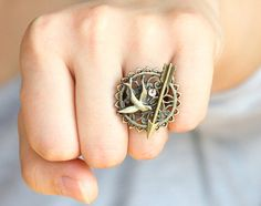 i do love a nice large-ish ring...and the hunger games.