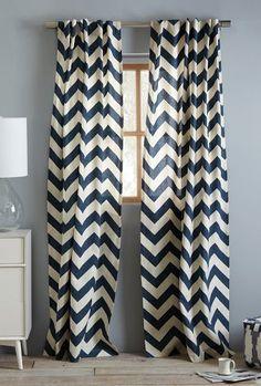 cotton canvas chevron curtains  http://rstyle.me/n/irmu9pdpe