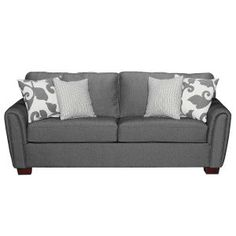 "87"" ""Talbot Onyx"" Upholstered Sofa 