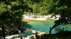 Hotel Posada del Valle, Asturias. La Olla de San Vicente in the River Dobra, a fabulous place for a swim http://www.organicholidays.com/at/1670.htm
