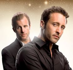 Alex O'Loughlin and Scott Caan - aren't they pretty  ♥♥♥