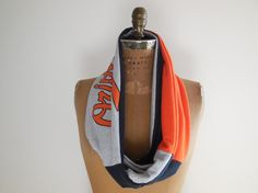 Baltimore Orioles T Shirt Scarf / Infinity Scarf / Orange by ohzie