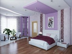 [ Wall Paint Colors For Girls Bedroom Best Color Walls Feng Exquisite Good Room Ceiling Ideas ] - Best Free Home Design Idea & Inspiration Decor, Small Room Decor, Bedroom Decor, Minimalist Bedroom Design, Bedroom False Ceiling Design, Purple Bedroom Design, Wall Paint Colors, Girls Bedroom Colors, Minimalist Room