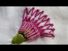 Embroidery Patterns | Spider Hand Stitch Basic Tutorial | HandiWorks#21 - YouTube