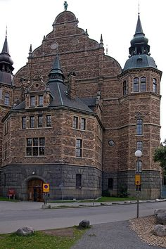 Stockholm, Sweden:    The Nordic Museum. #travel