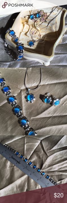 Matching Jewelry set Bracelet, earrings, and necklace Jewelry Necklaces