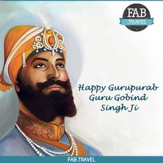 May the name of #WaheGuru be enshrined in your #Heart, May guru ji's #DivineLove and Blessing be with you always. #FabTravel wishes you and your family #HappyGurpurab!!