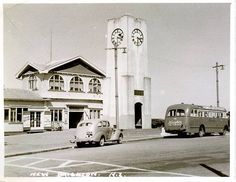 New Brighton, Christchurch, New Zealand. Christchurch New Zealand, New Brighton, South Island, Old And New, Old Photos, History, City, Building, Historia