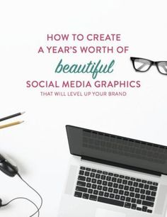Social media graphics stressing you out? Get this design guide to help you be consistent!