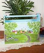 Green Pastures  painting packet instructions