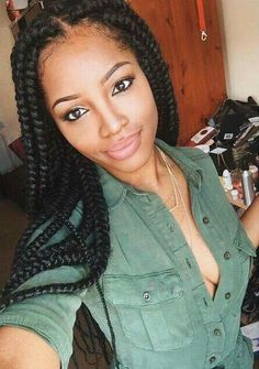 wear it in braids on pinterest senegalese twists none