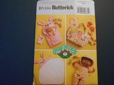 Butterick 5304 Cabbage Patch Clothes  diaper bag by MadkDesigns, $9.99