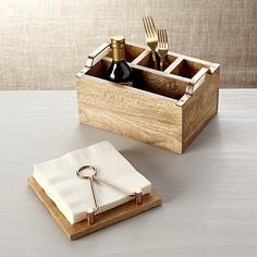 Beck Flatware Caddy | Crate and Barrel