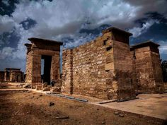 *THE TEMPLE OF HIBIS:  in Egypt, reconstructed by Darius I, Achaemenid Persian king, During his reign in Egypt.