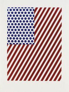Illustration for 'Amerique' (1992) / by Roy Lichtenstein