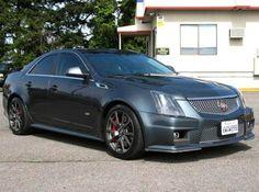 2012 Cadillac CTS-V Luxury Sports Sedan — $57995