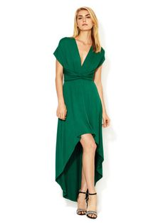 Tart Jersey High Low Infinity Dress