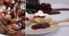 Reg grape and rosemary jelly