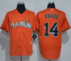 a93b899cd81 marlins  14 Martin Prado Orange New Cool Base Stitched MLB Jersey Martin  Prado