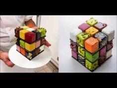 Rubik's cube puzzle Cakes BY PHOTOFUN4UCOM
