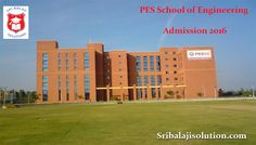 PES School of Engineering (PESSE) - Sri Balaji Solution is the leading educational admission consultancy in Bangalore. We provide admissions in all top colleges and universities.    http://www.sribalajisolution.com/engineering-bangalore/pes-school-of-engineering-admission.html