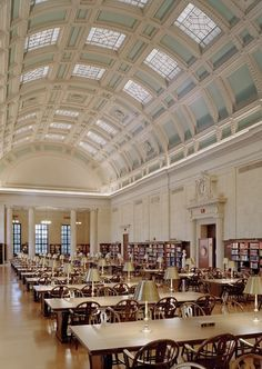 14 Stunning University Libraries | Widener Library, Harvard University – Cambridge, Massachusetts