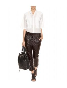 Haider Ackermann - LEATHER TROUSERS