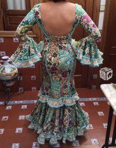 Traje de flamenca precioso en Sevilla , Segundamano.es ,