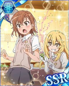 Shokuhou and Misaka