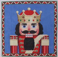 Susan Roberts Nutcracker King Bust Hand Painted Needlepoint Canvas | eBay