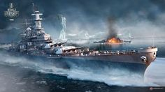 USS Iowa - World of Warships World War II battleships iceberg - BFD